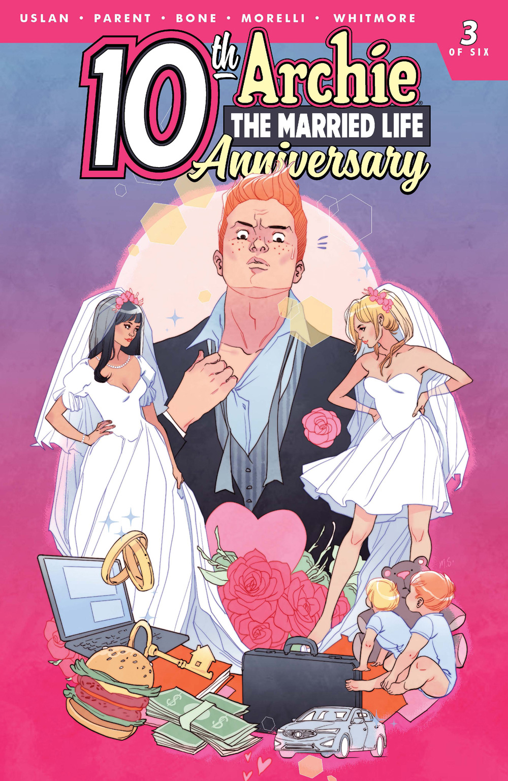 ARCHIE THE MARRIED LIFE: 10th ANNIVERSARY #1: CVR C Sauvage