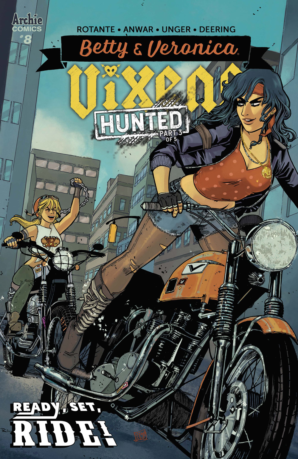 Betty and Veronica: Vixens #8: CVR A Anwar