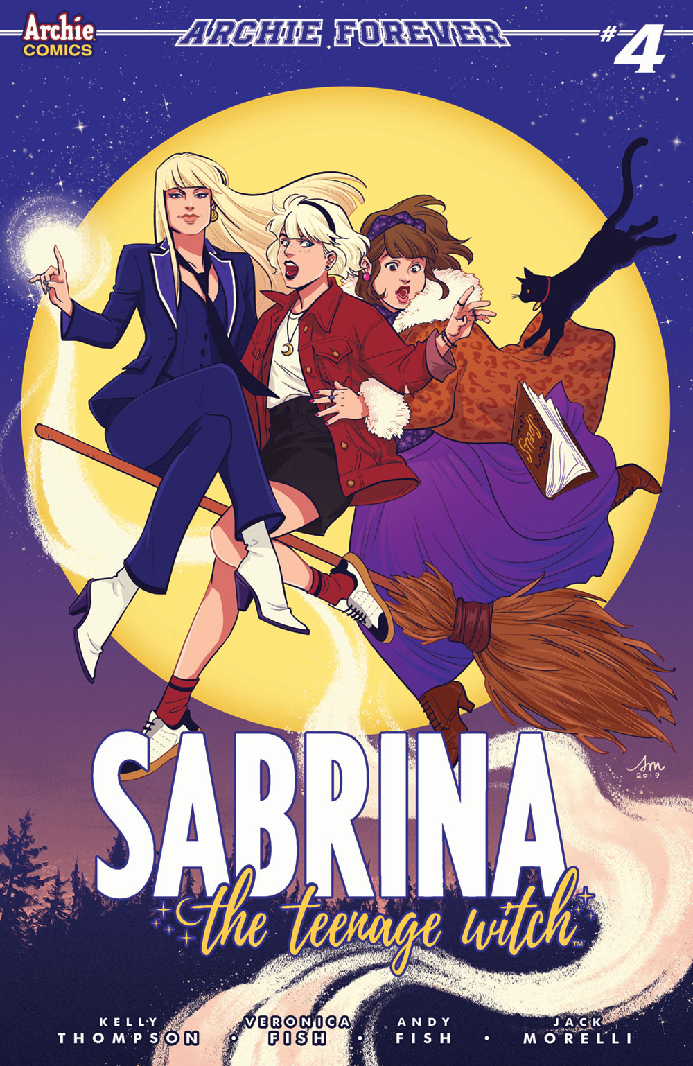 SABRINA THE TEENAGE WITCH #3: CVR C Mok