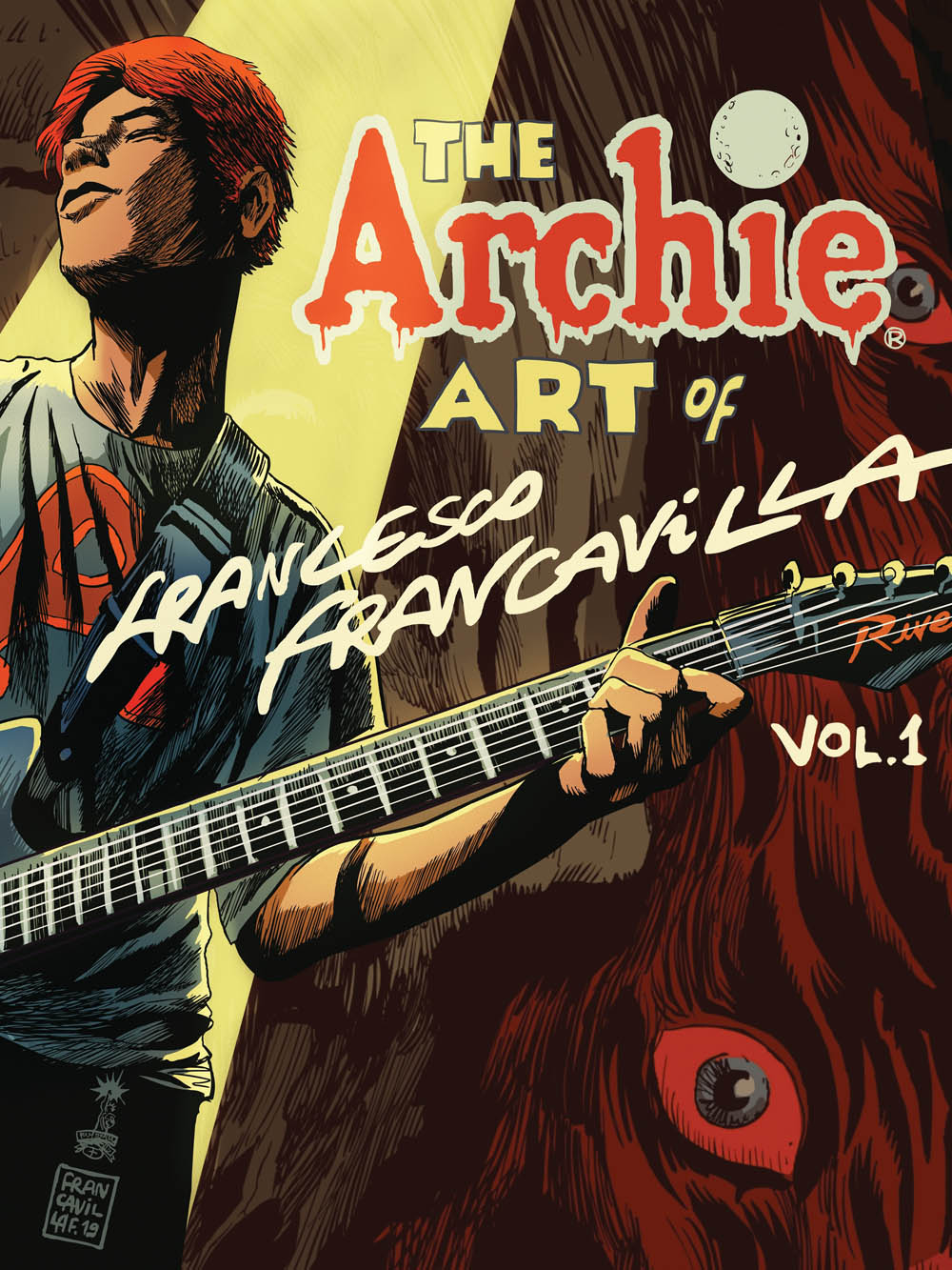THE ARCHIE ART OF FRANCESCO FRANCAVILLA VOL. 1 (HC)