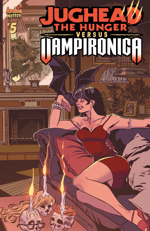 JUGHEAD: THE HUNGER VS. VAMPIRONICA #5: CVR A Kennedy