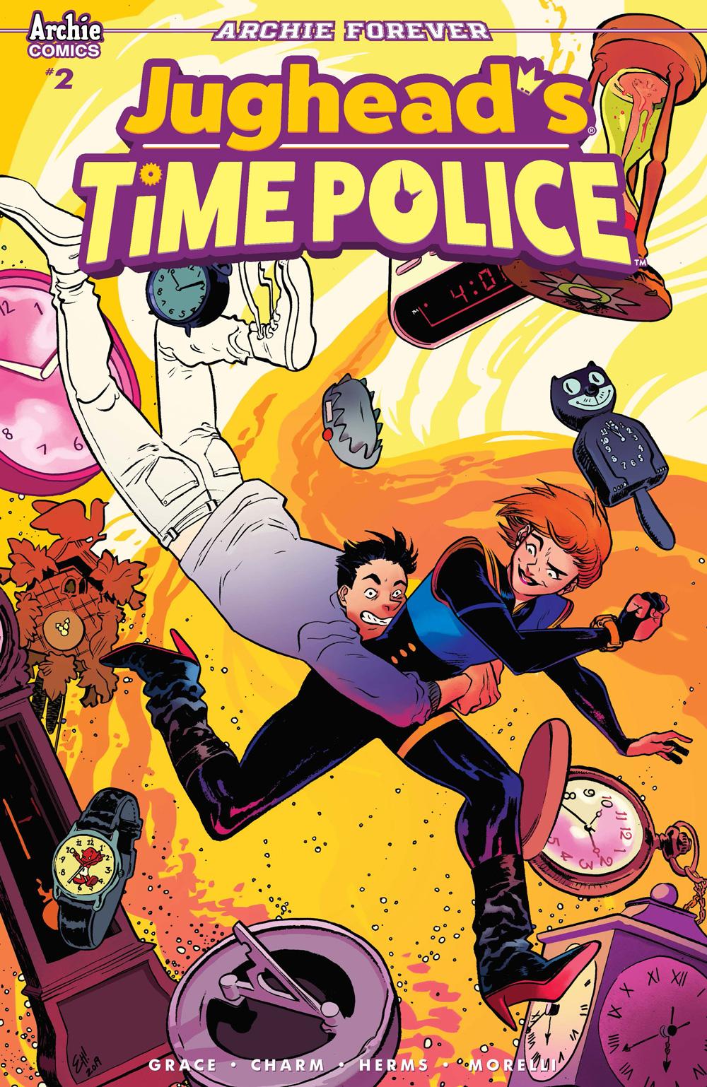 JUGHEAD'S TIME POLICE #2: CVR B Henderson