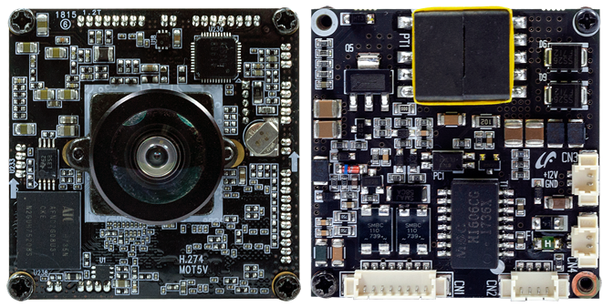 24M8.29IP 4K DOL board camera