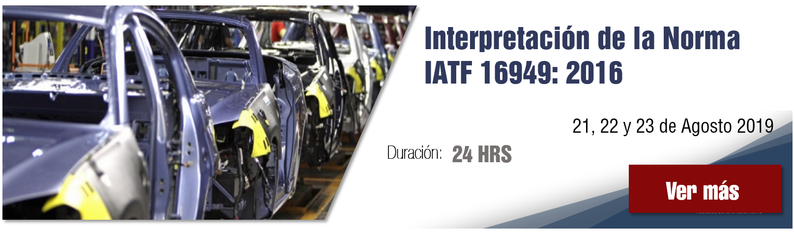 Curso Interpretación de la norma IATF 16949