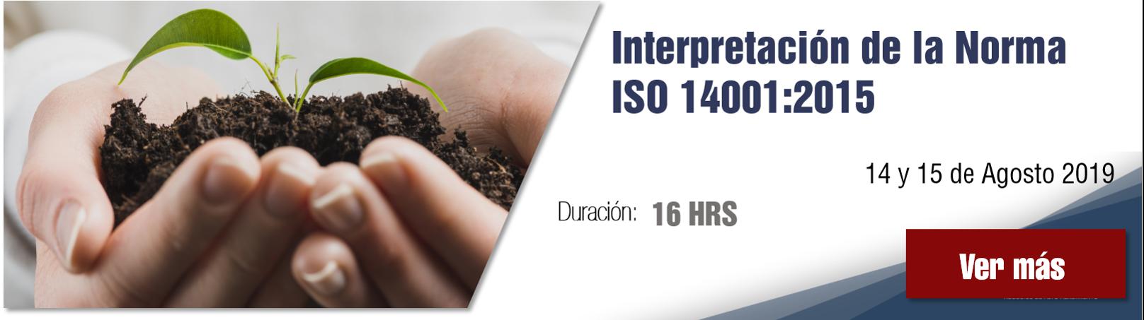 Curso Interpretación de la norma ISO 14001