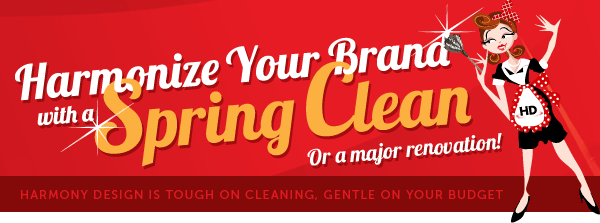 Harmonize Your Brand with a Spring Clean