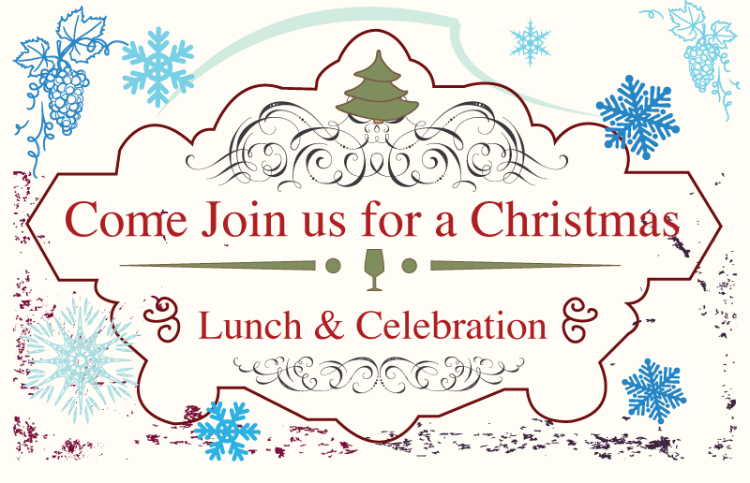Come Join us for a Christmas Lunch & Celebration