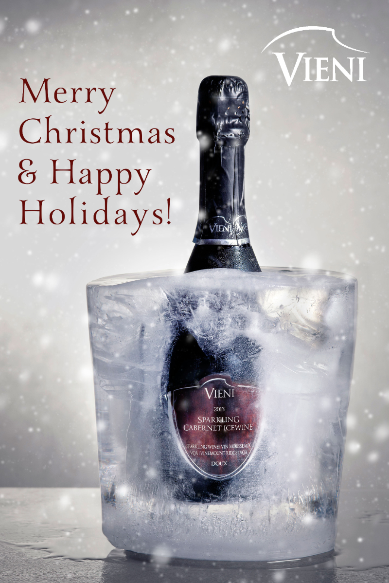 Merry Christmas and Happy Holidays from everyone at Vieni Estates