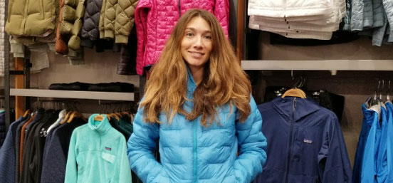 Say hello to the lightest, warmest synthetically insulated jacket that Patagonia offers.