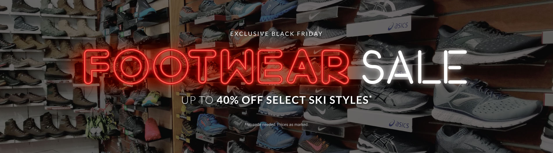 Save up to 40% off top brands when you shop our Black Friday Preview Sale