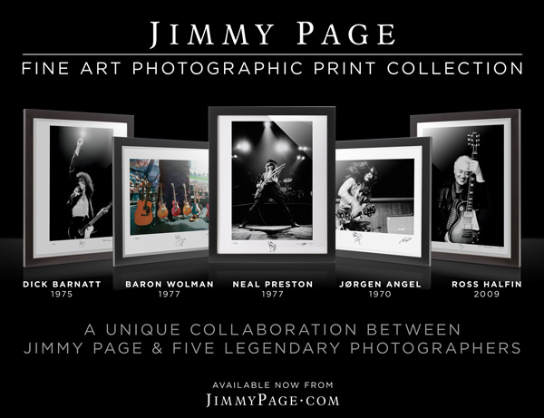 Jimmy Page Fine Art Photographic Prints available now