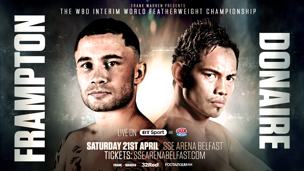 Frampton v Donaire just got even bigger!