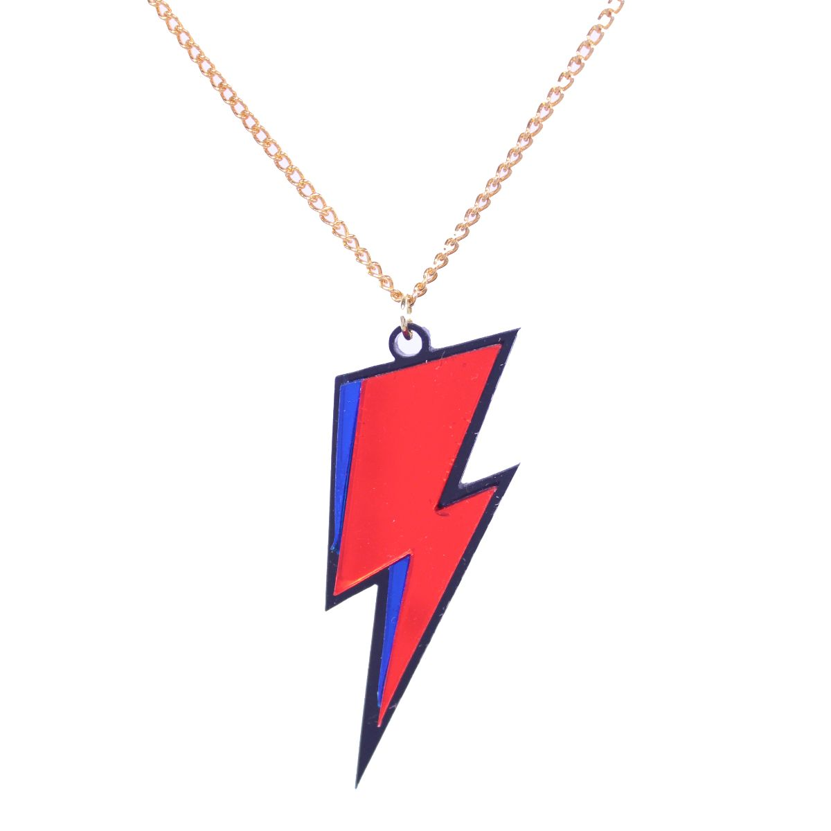 Bowie Lightning Bolt Necklace - Extreme Largeness Wholesale