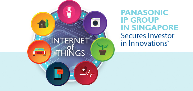 Panasonic IP Group in Singapore Secures Investor in Innovations®