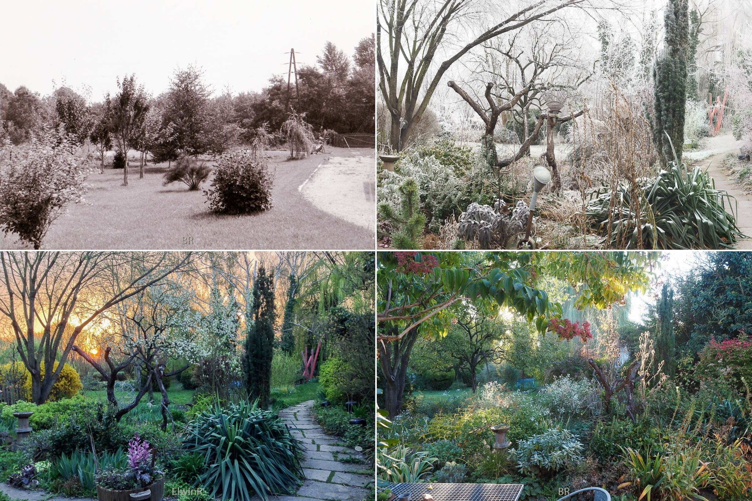 4 Ansichten 1 - 1960er und 2010er