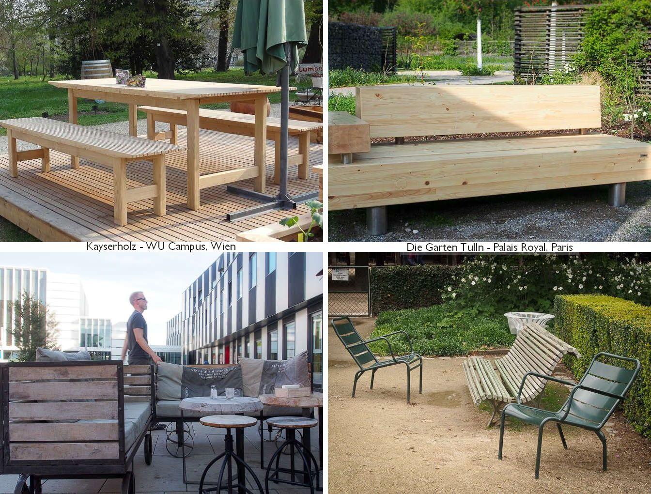 Modern, Landhaus, klassisch - alles Holzsitzmöbel für den Garten