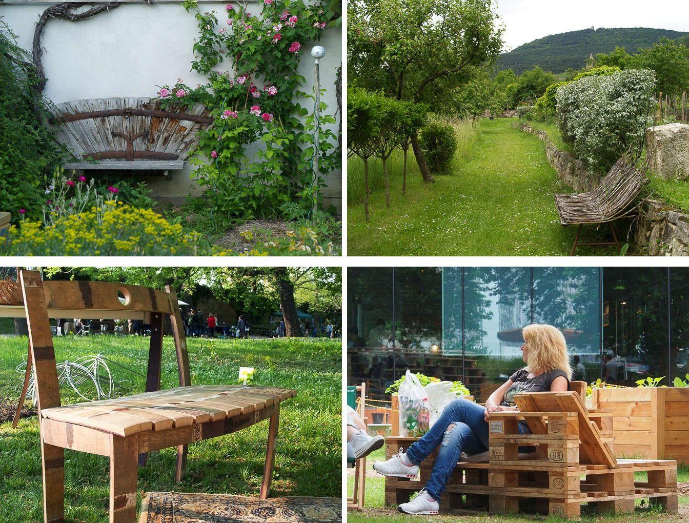 upcycling Gartensitze
