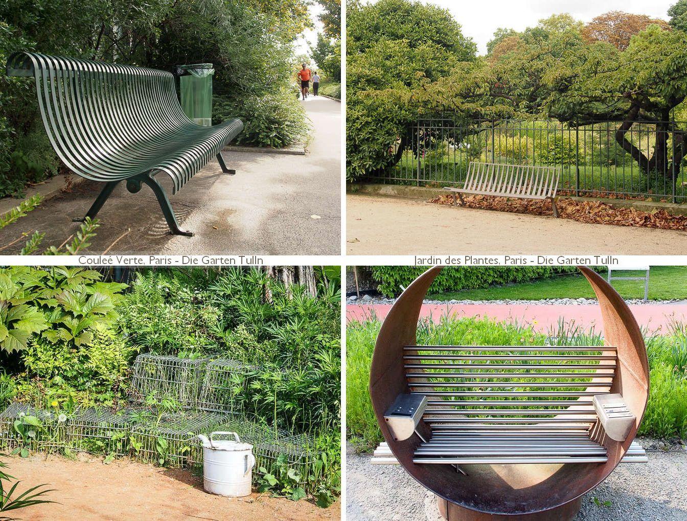 Gartensitzmöbel aus Metall - von klassisch über upcycling bis high-tech
