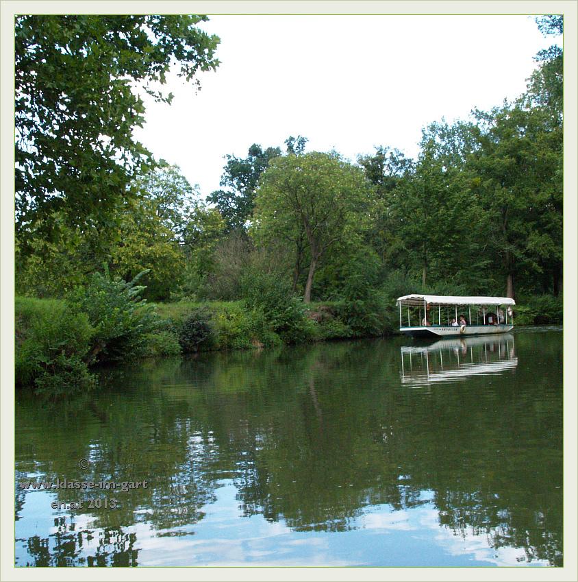 Schloss Lednice: Bootsrundfahrten am Thaya-See