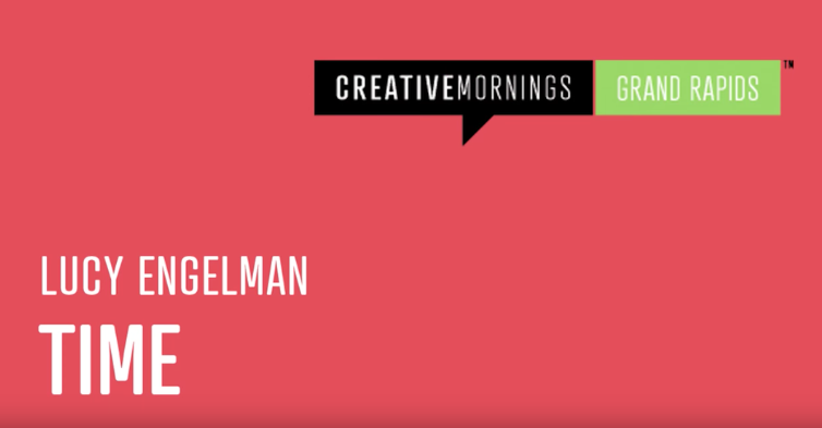 Lucy Engelman - Creative Mornings
