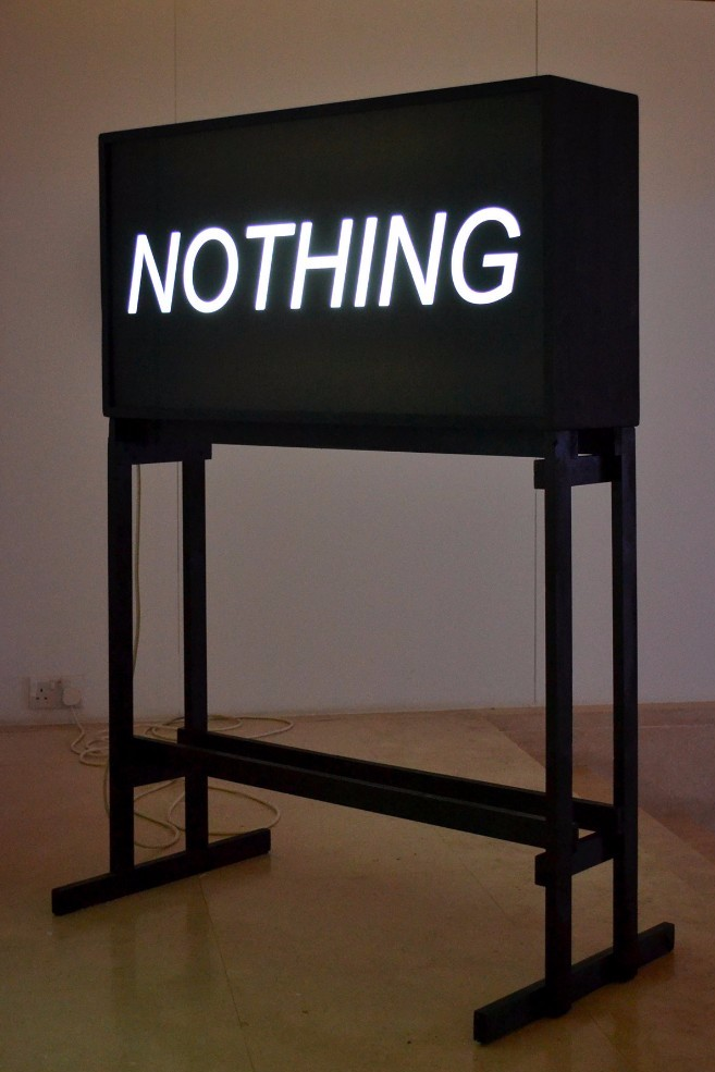 To See / Nothing - Aaron Bezzina