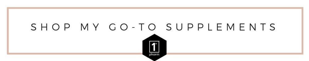 Shop my go-to supplements. #iam1stphorm