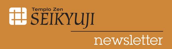 Templo Zen Seikyuji - newsletter