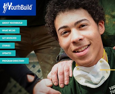 Photo of a YouthBuild student
