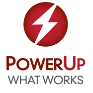PowerUp WHAT WORKS logo