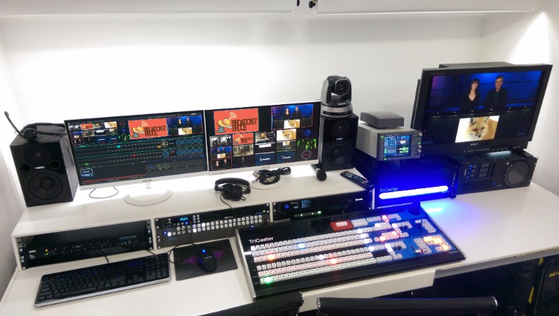 TriCaster Studios Built By Broadcast Bruce