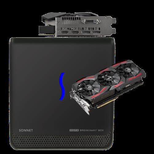 Sonnet eGFX Breakaway Box 650 and AMD Vega 64