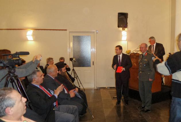 Εκδήλωση του Φιλοπρόοδου Ομίλου Βροντάδου για τον Μακεδονομάχο Ναύαρχο Ι. Δεμέστιχα