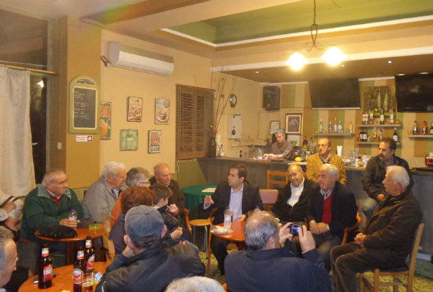 Επίσκεψη στην Καλαμωτή Χίου