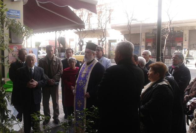 Ο Ν. Μηταράκης στην εκδήλωση μνήμης του Καλλιμασιώτη ήρωα αεροπόρου Κώστα Περρίκου
