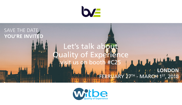 Witbe at BVE