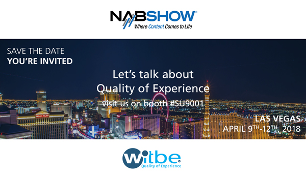 Witbe at NAB