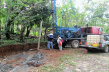 Well Drilling at the Site