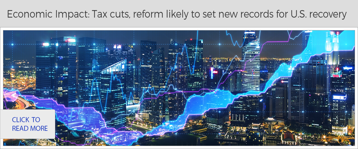 Economic Impact: Tax cuts, reform likely to set new records for U.S. recovery