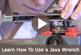 Learn How To Open a Watch Back with a Jaxa Wrench.
