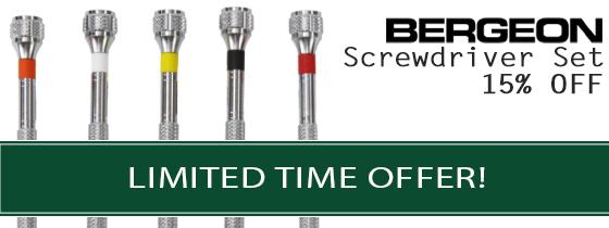 15% Off Screwdriver Set   Limited Time Offer