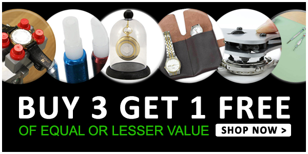 - Watchmakers Tools and Supply Limited Time Offer, Mix and Match of Equal or Lesser Value, Buy 3 Get 1 Free