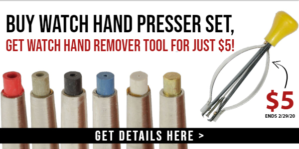 Get your next watch hand tool for just $5.