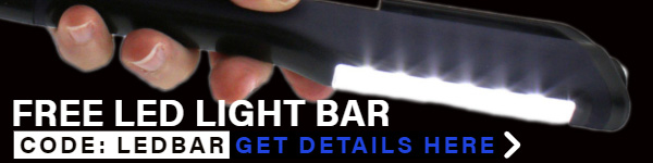 FREE LED LIGHT BAR