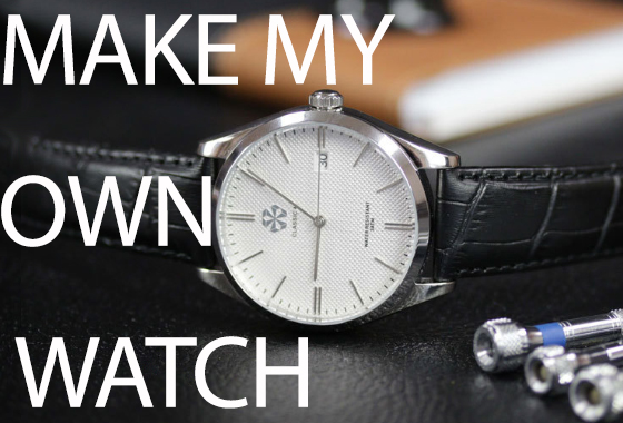 - Now watch enthusiast and DIY hobbyist can design and assemble their own watch!