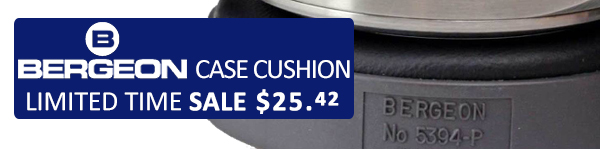 Bergeon Case Cushion - Limited Time Sale $25.42