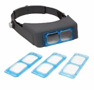 Magnifier Head Band Adjustable Size with Multiple Magnifications