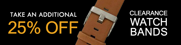 Clearance Watch Bands -