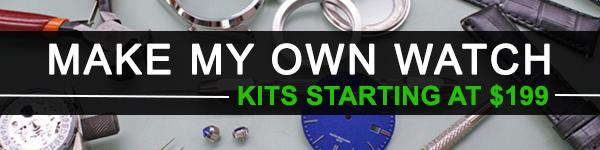 Make My Own Watch Kits $199