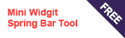 Mini Widget Spring Bar Tool