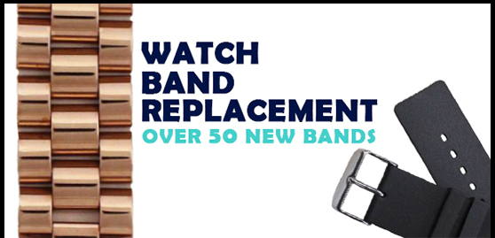 Watch Band Replacement - Over 50 New Brands
